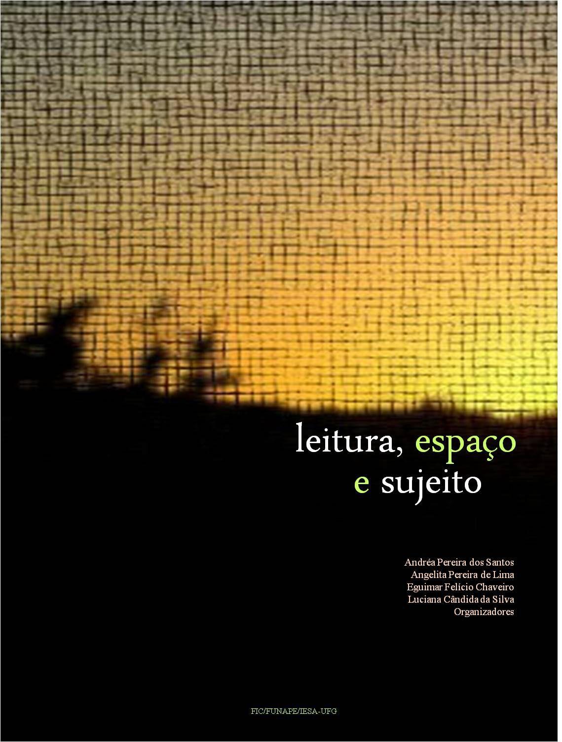 Capa Ebook Leitura, espaço e sujeito