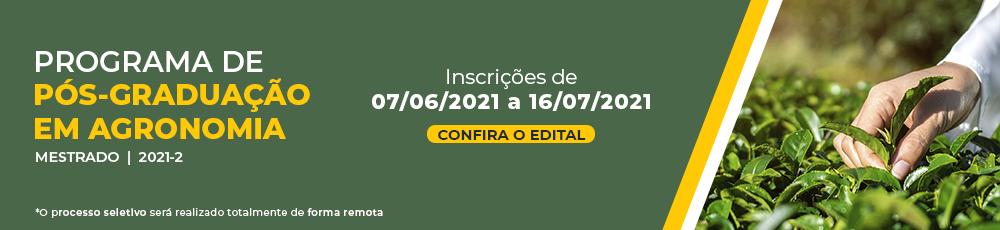 banner edital PPGA 2021-2