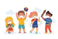<a href='https://br.freepik.com/vetores/criancas'>Crianças vetor criado por pikisuperstar - br.freepik.com</a>