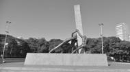 Goiânia - Monumento das três raças