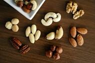 Nozes e sementes