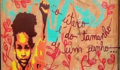 Grafite de Carolzinha Itzá (São Paulo, SP, 2015)