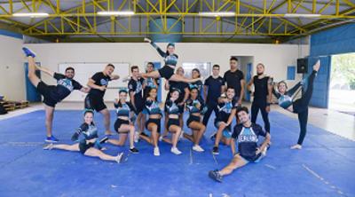 Equipe cheerleading