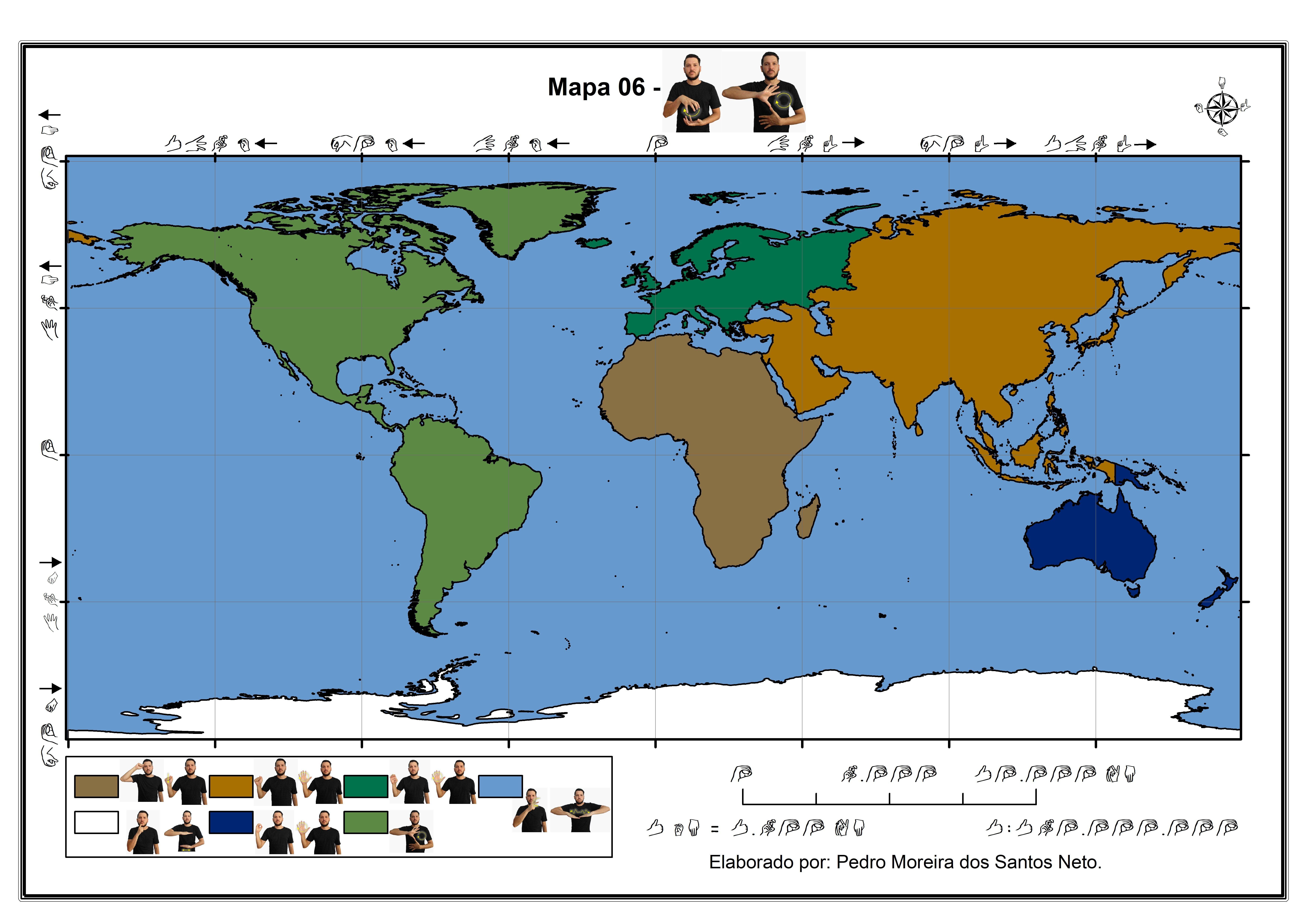 Mapas para surdos