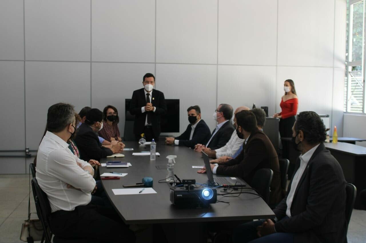 Reunião gestores UFG e Anápolis