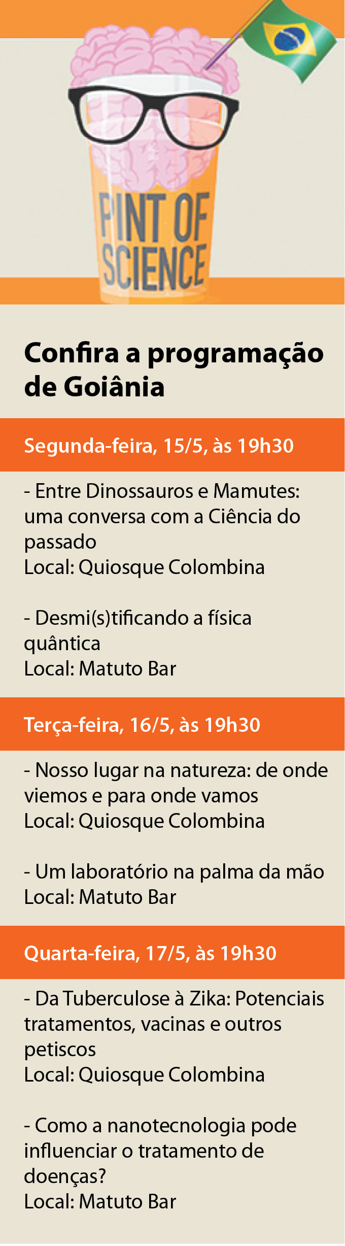 pint of science goiânia 2017