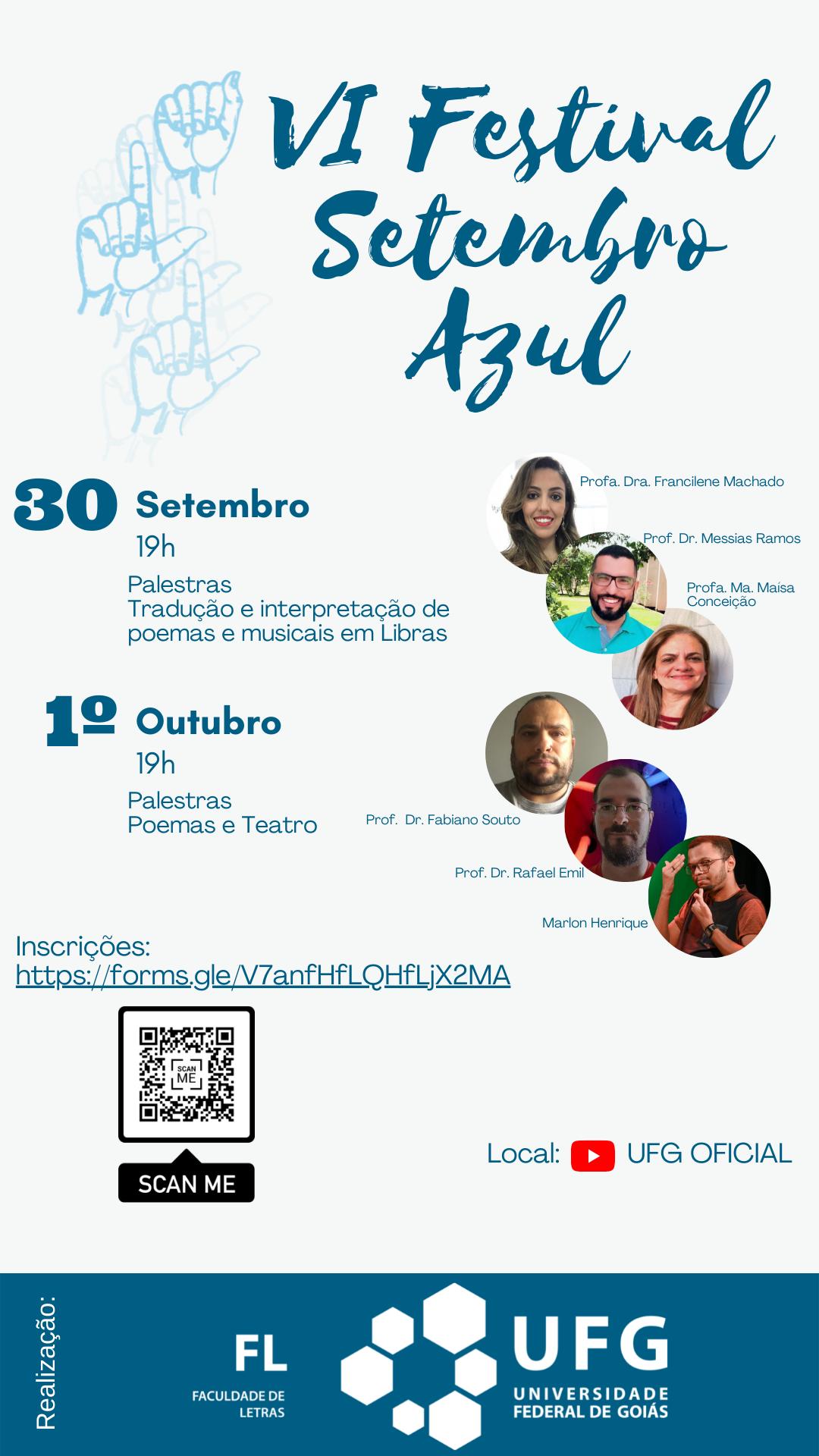 VI Festival Setembro Azul na UFG