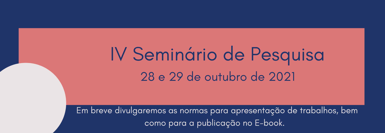 Seminário Pesquisa 2021