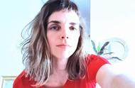 Rafaela Pires máscara caseira