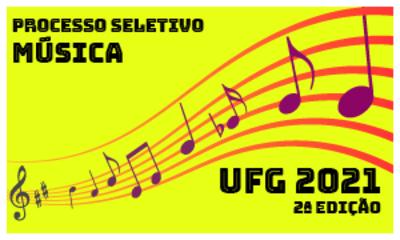 Processo seletivo Música 2021 - 2 edição Card