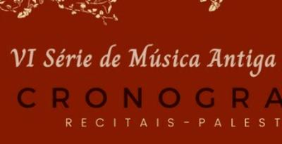 VI Série de Música Antiga de Goiás dia 21 de junho