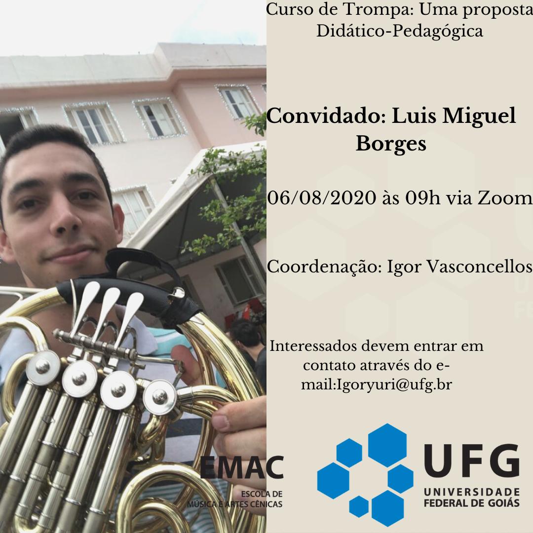 Curso de Trompa- Convidado Luis Miguel