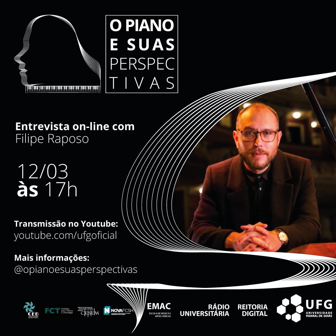 O Piano e Suas Perspectivas com Filipe Raposo