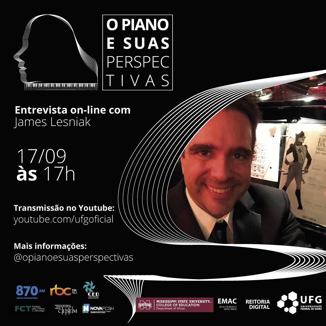 Piano e Suas Perspectivas com James Lesniak