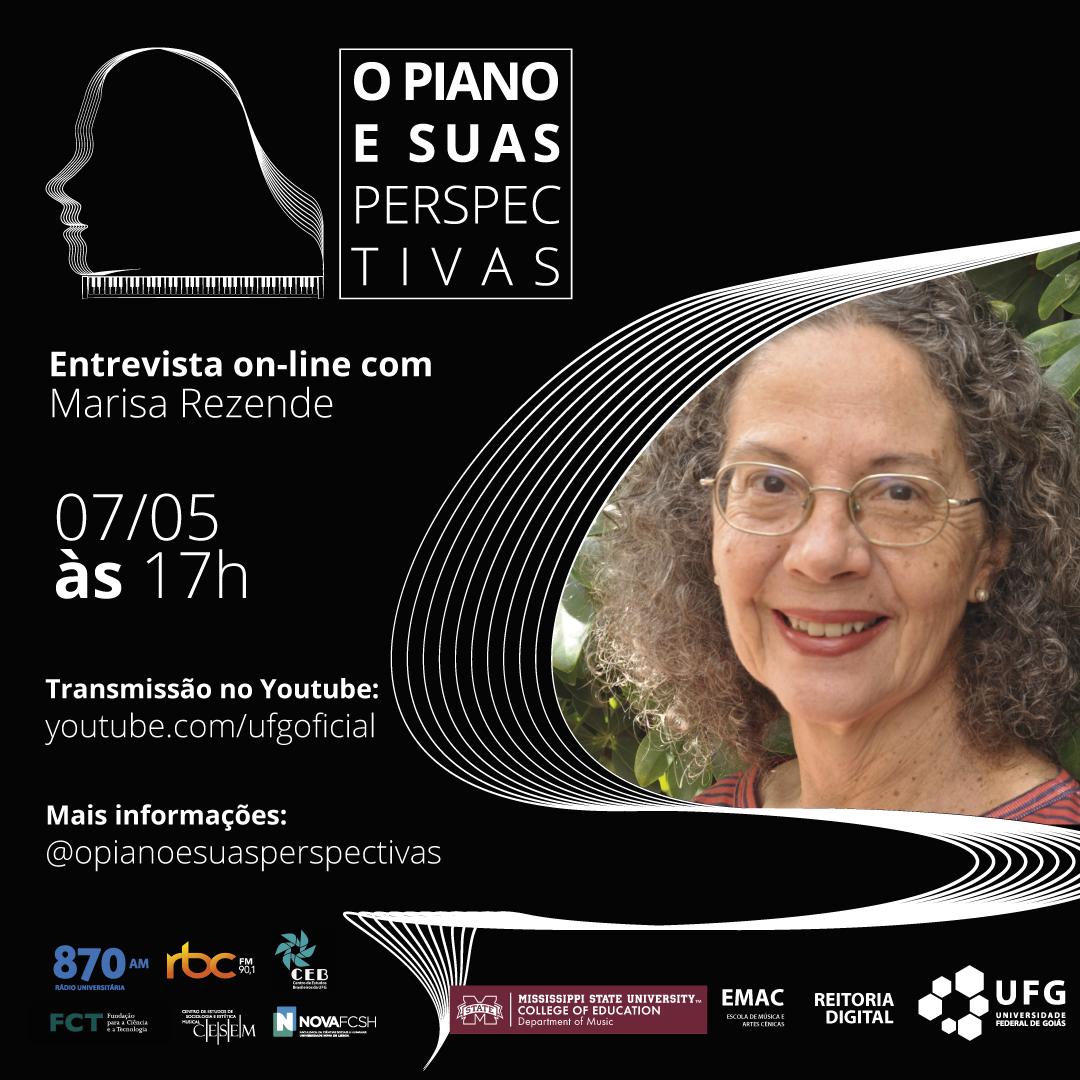 O Piano e Suas Perspectivas com Marisa Rezende