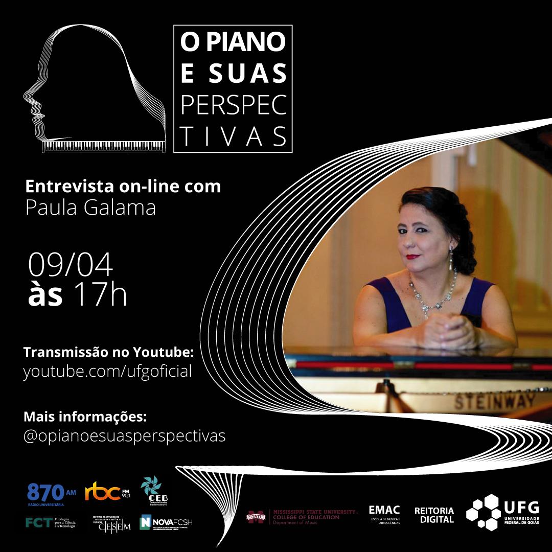 O Piano e Suas Perspectivas com Paula Galama