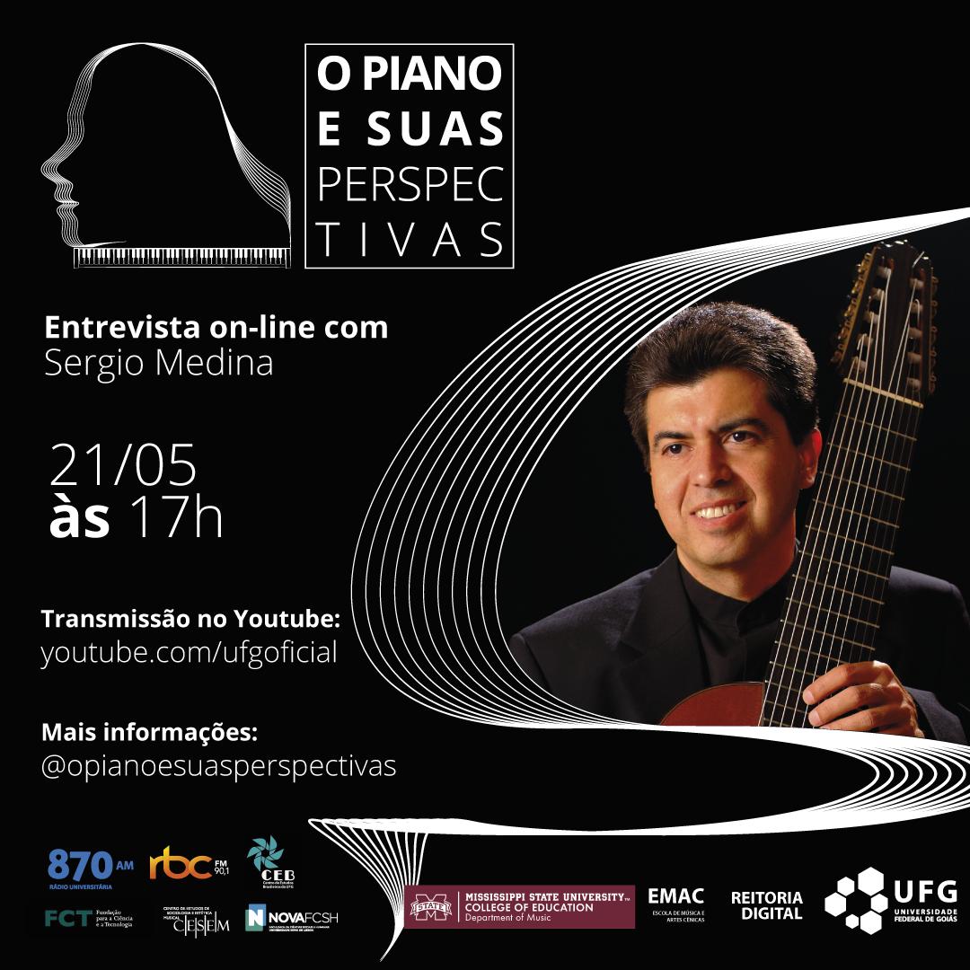 O Piano e Suas Perspectivas com Sergio Medina
