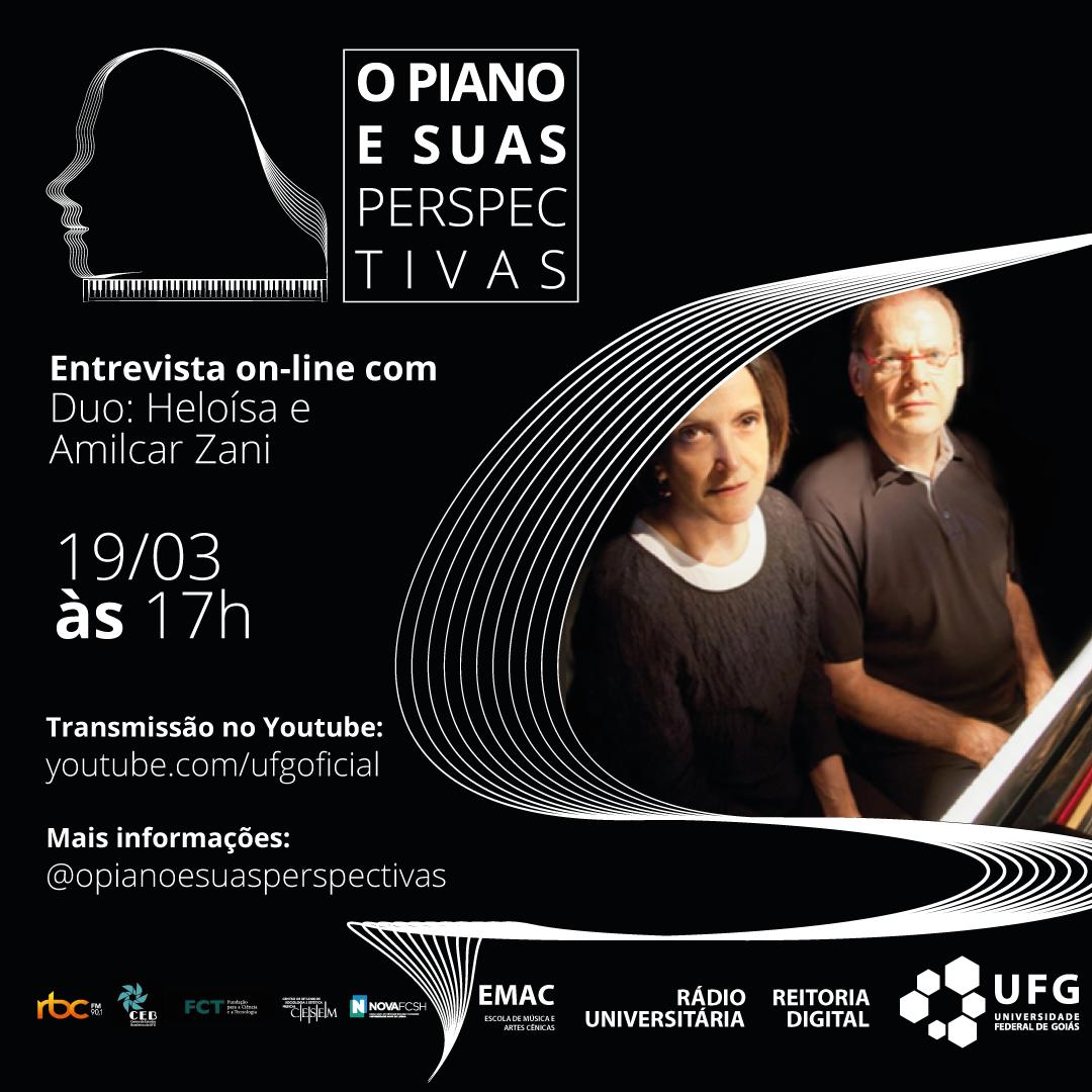 O Piano e Suas Perspectivas com o Duo Heloisa e Amilcar Zani