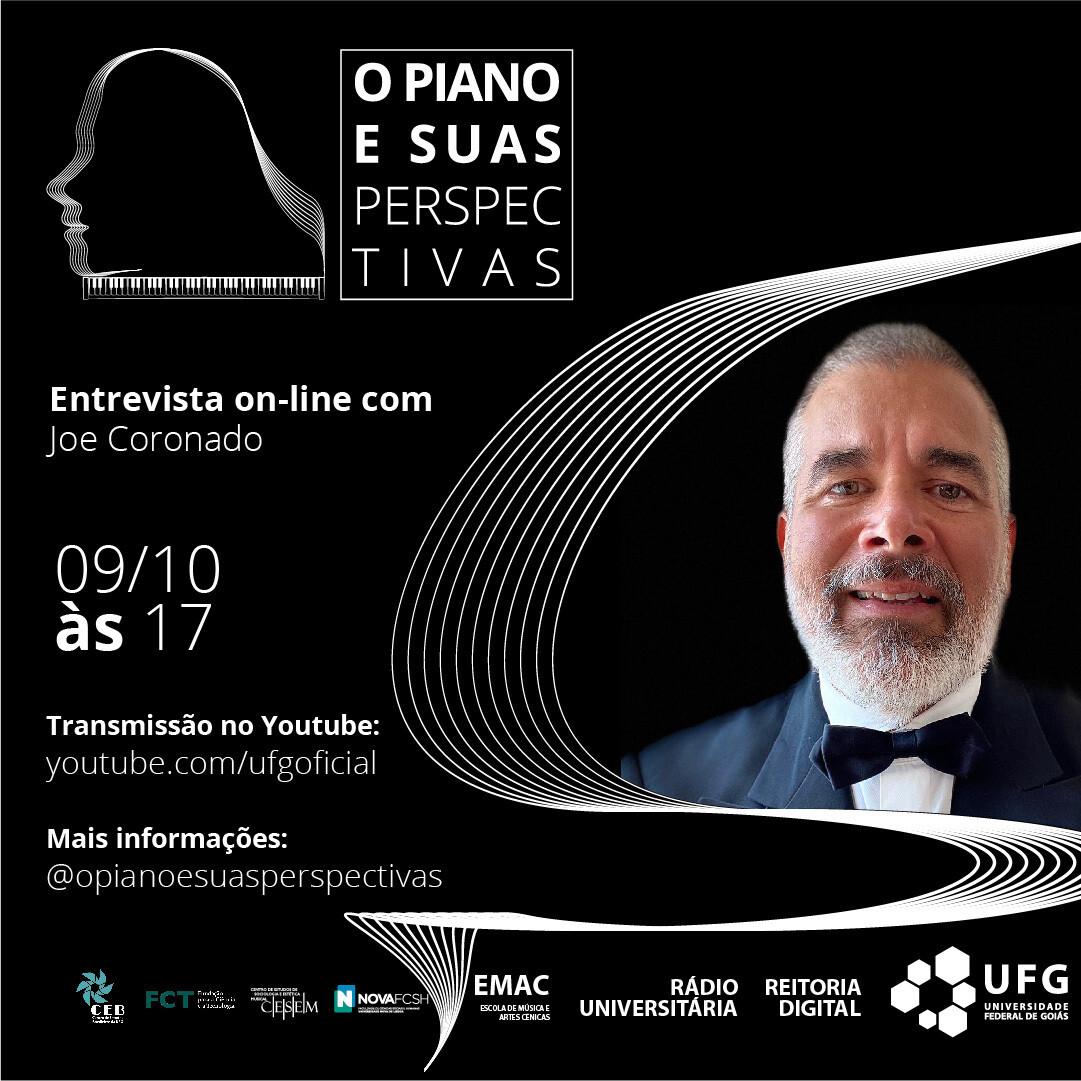 O Piano e suas Perspectivas com Joe Coronado