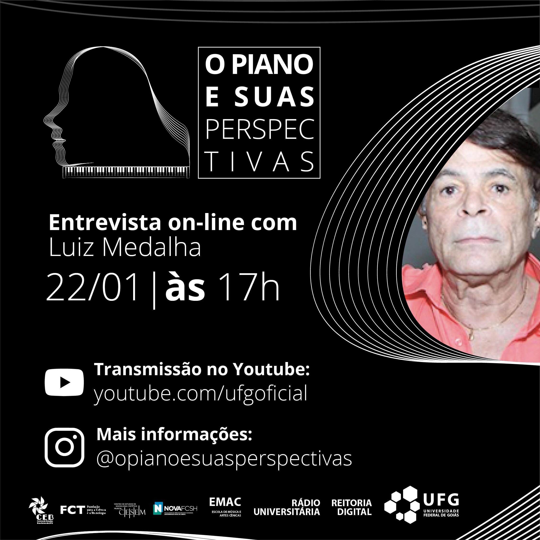 O Piano e suas Perspectivas com Luiz Medalha