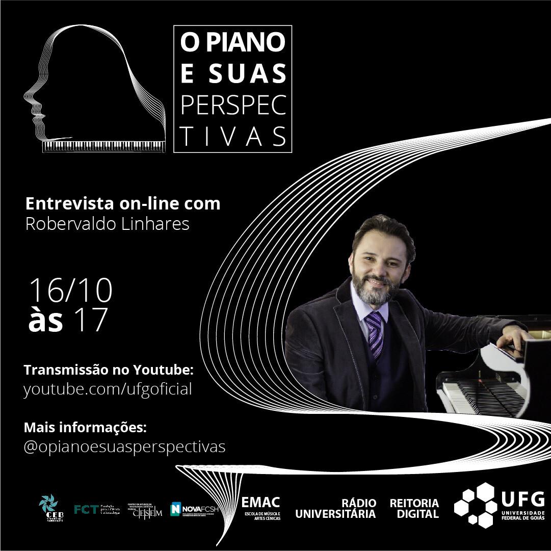 O Piano e suas Perspectivas com Robervaldo Linhares