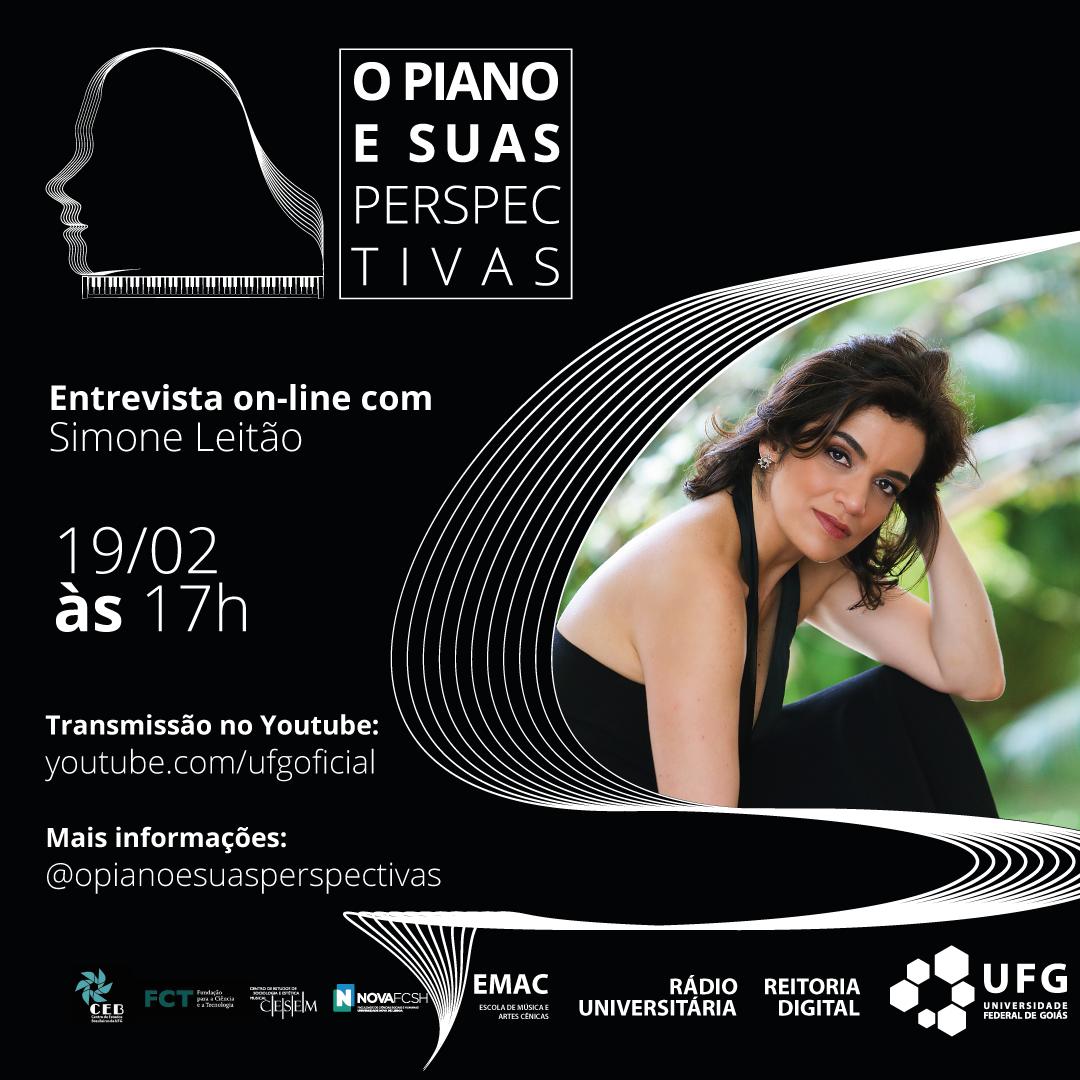 O Piano e suas Perspectivas com Simone Leitão