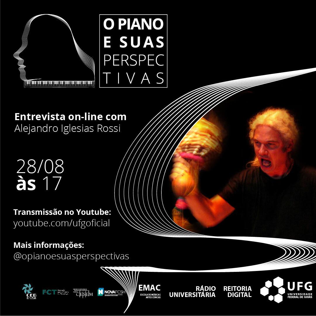 O piano e Suas Perspectivas com Alejandro Iglesias Rossi