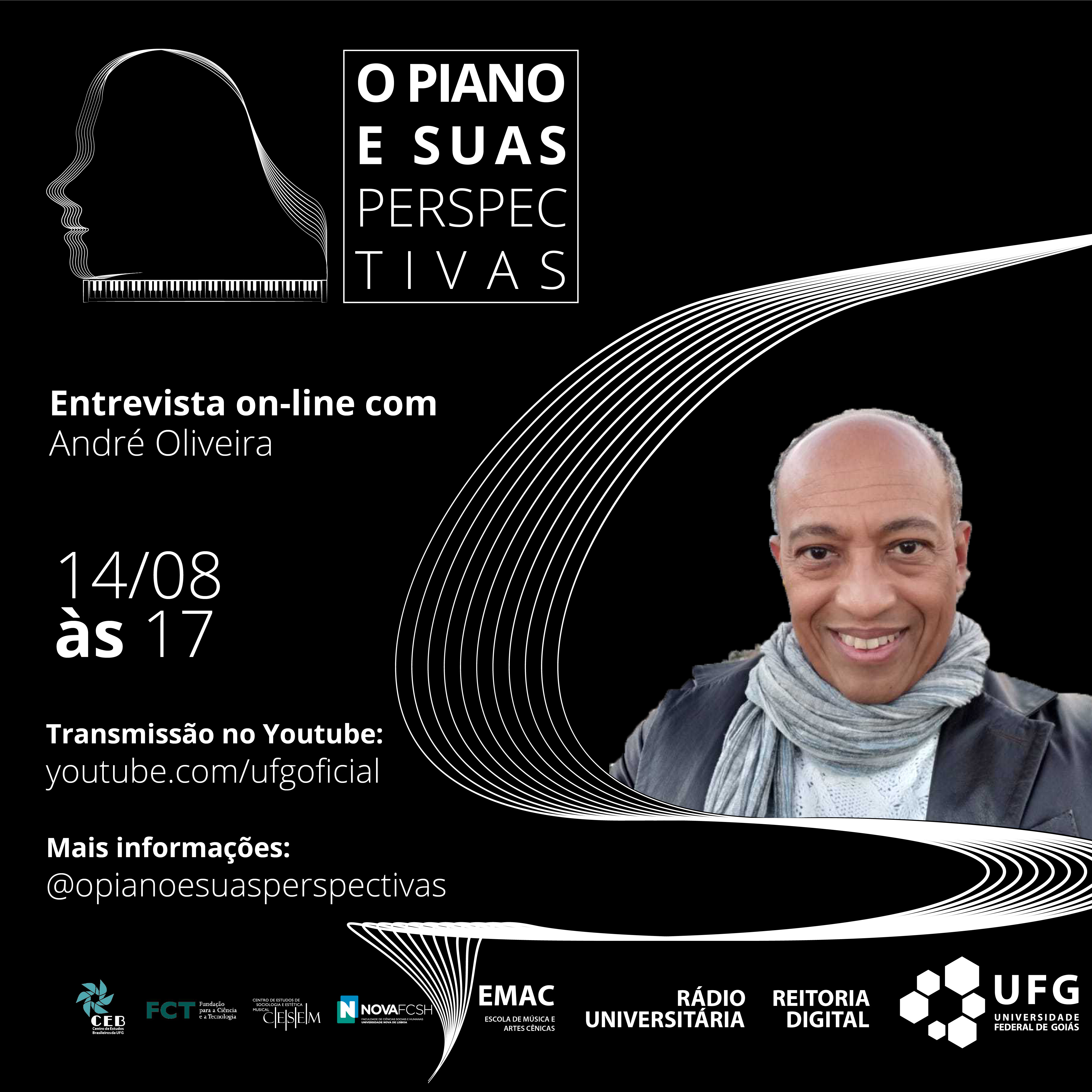 O piano e suas perspectivas com André Oliveira