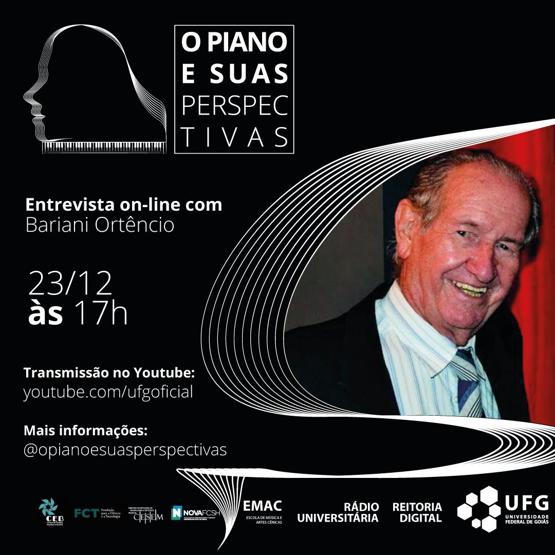O piano e suas perspectivas com Bariani Ortêncio