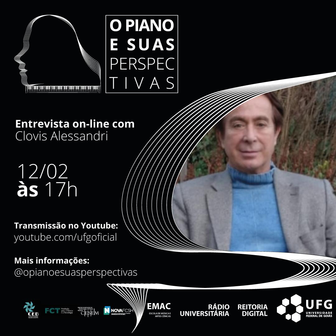 O piano e suas perspectivas com Clovis Alessandri