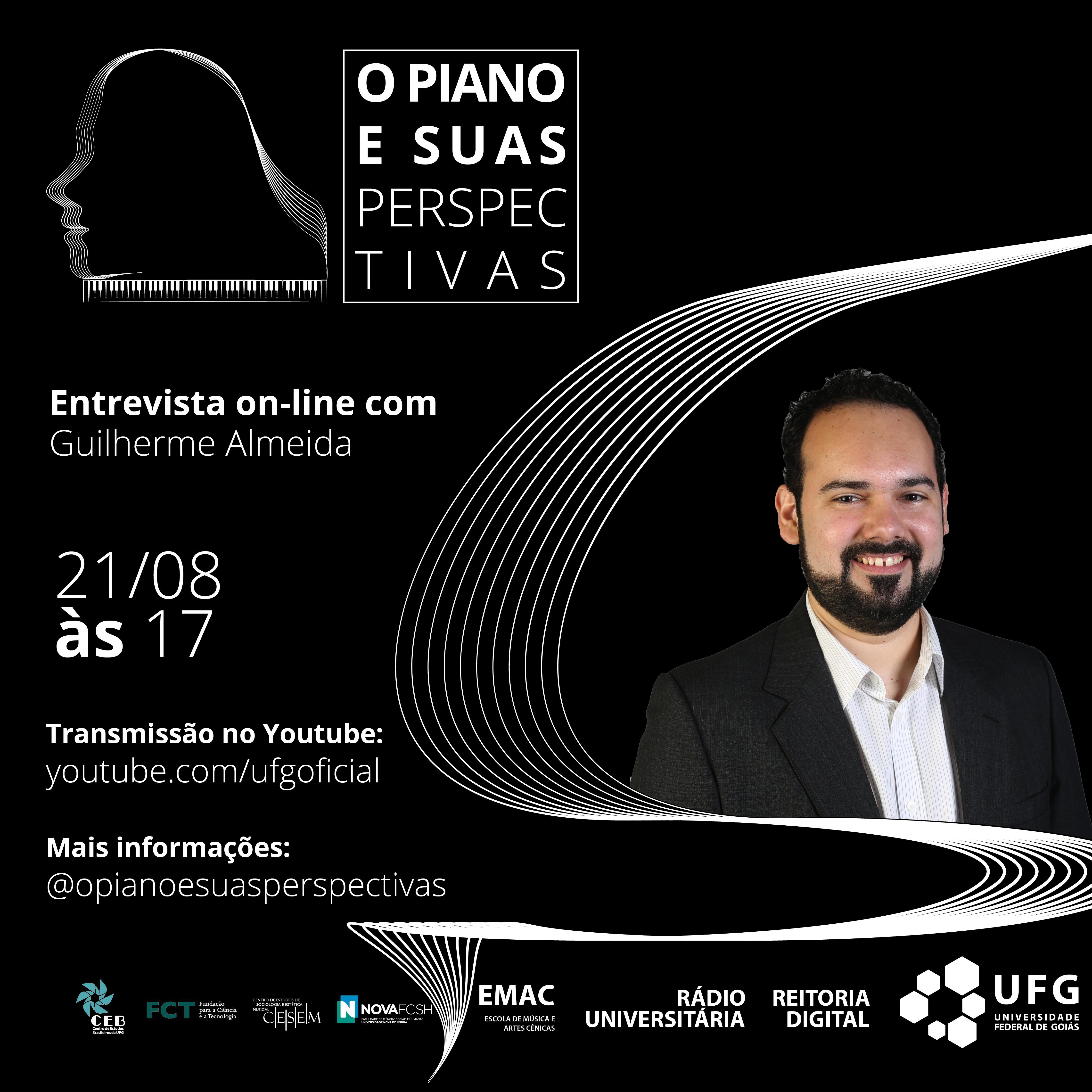 O piano e suas perspectivas com Guilherme Almeida
