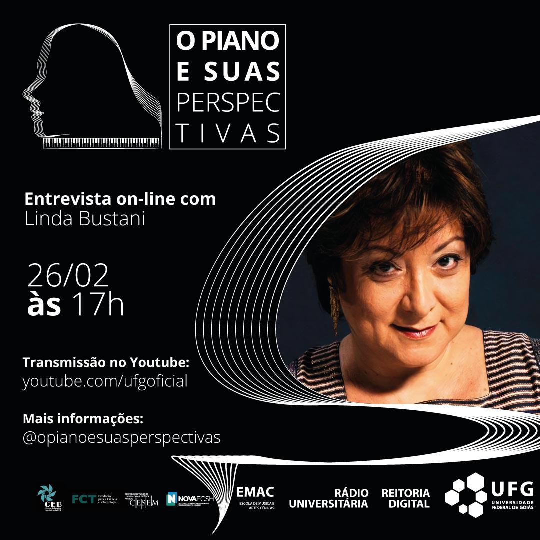 O piano e suas perspectivas com Linda Bustani