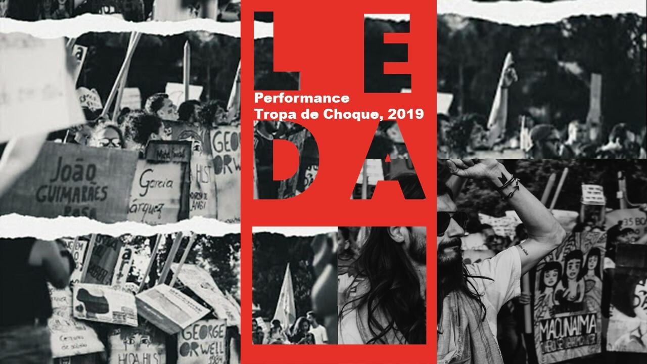 Performance tropa de choque, 2019