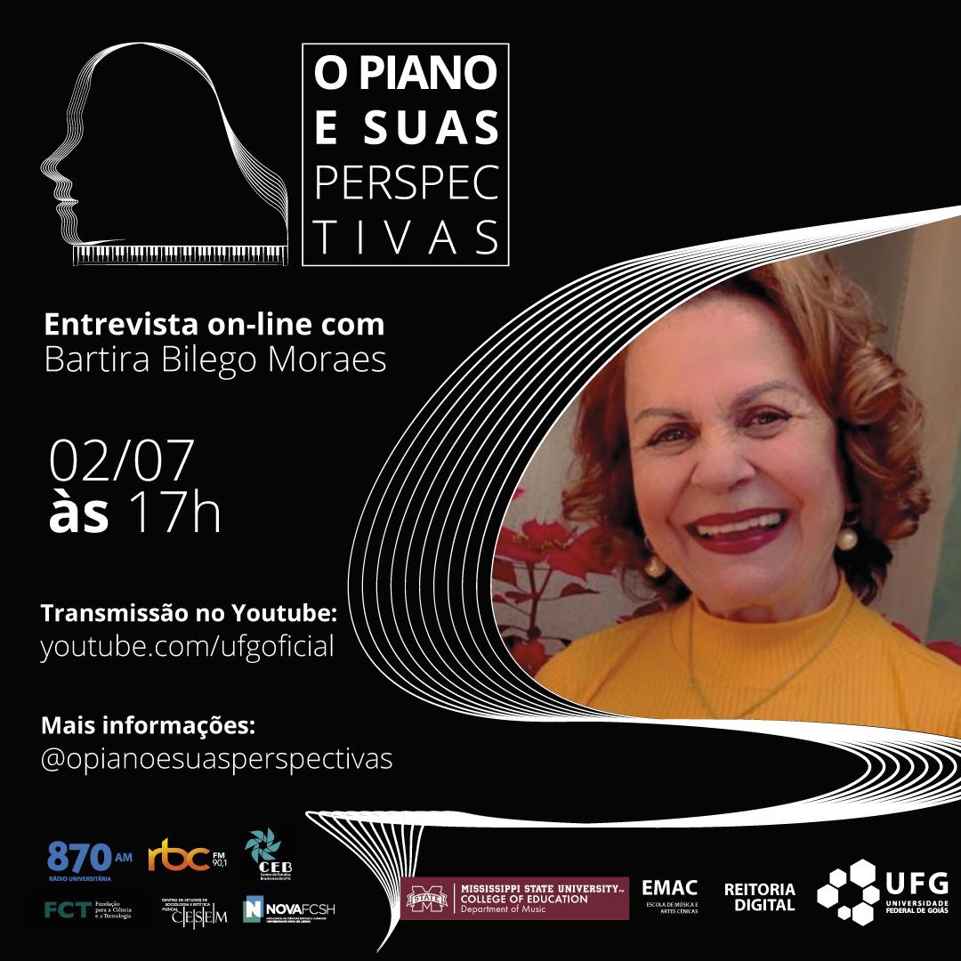 O Piano e Suas Perspectivas com Bartira Bilego Moraes