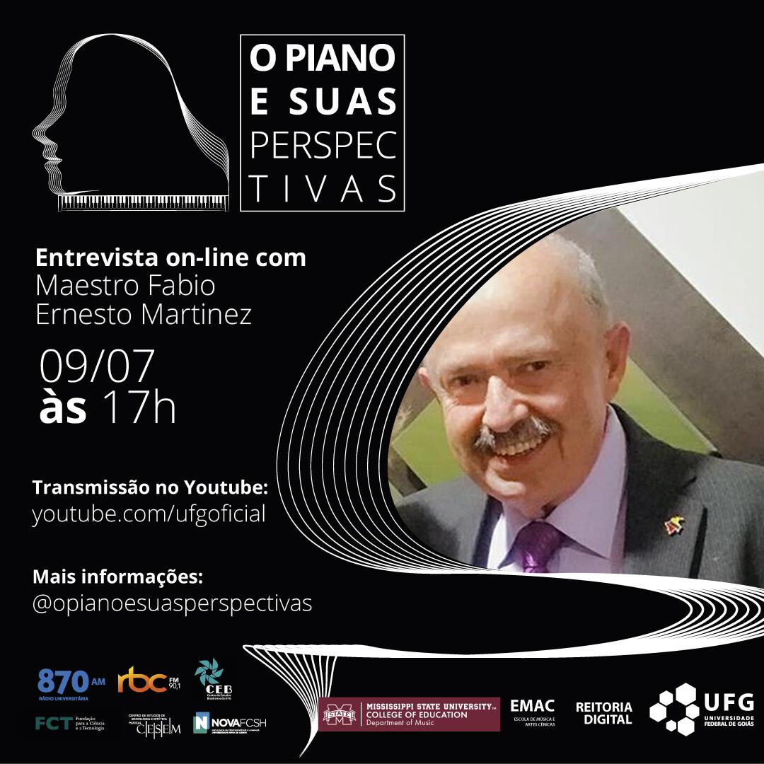 O Piano e Suas Perspectivas com Fabio Ernesto Martínez