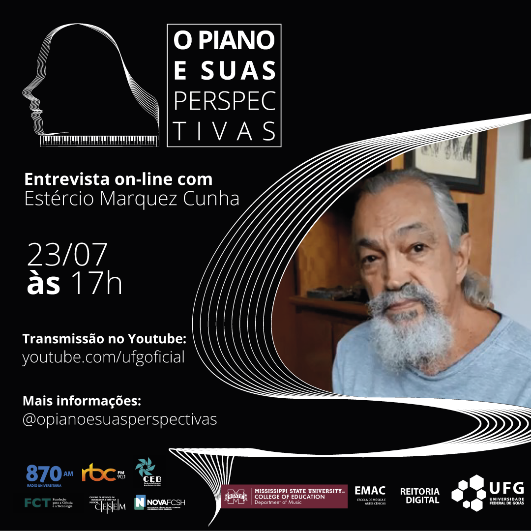 O Piano e Suas Perspectivas com Estércio Marquez Cunha