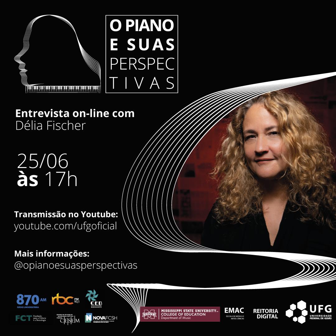 O Piano e Suas Perspectivas com Delia Fischer