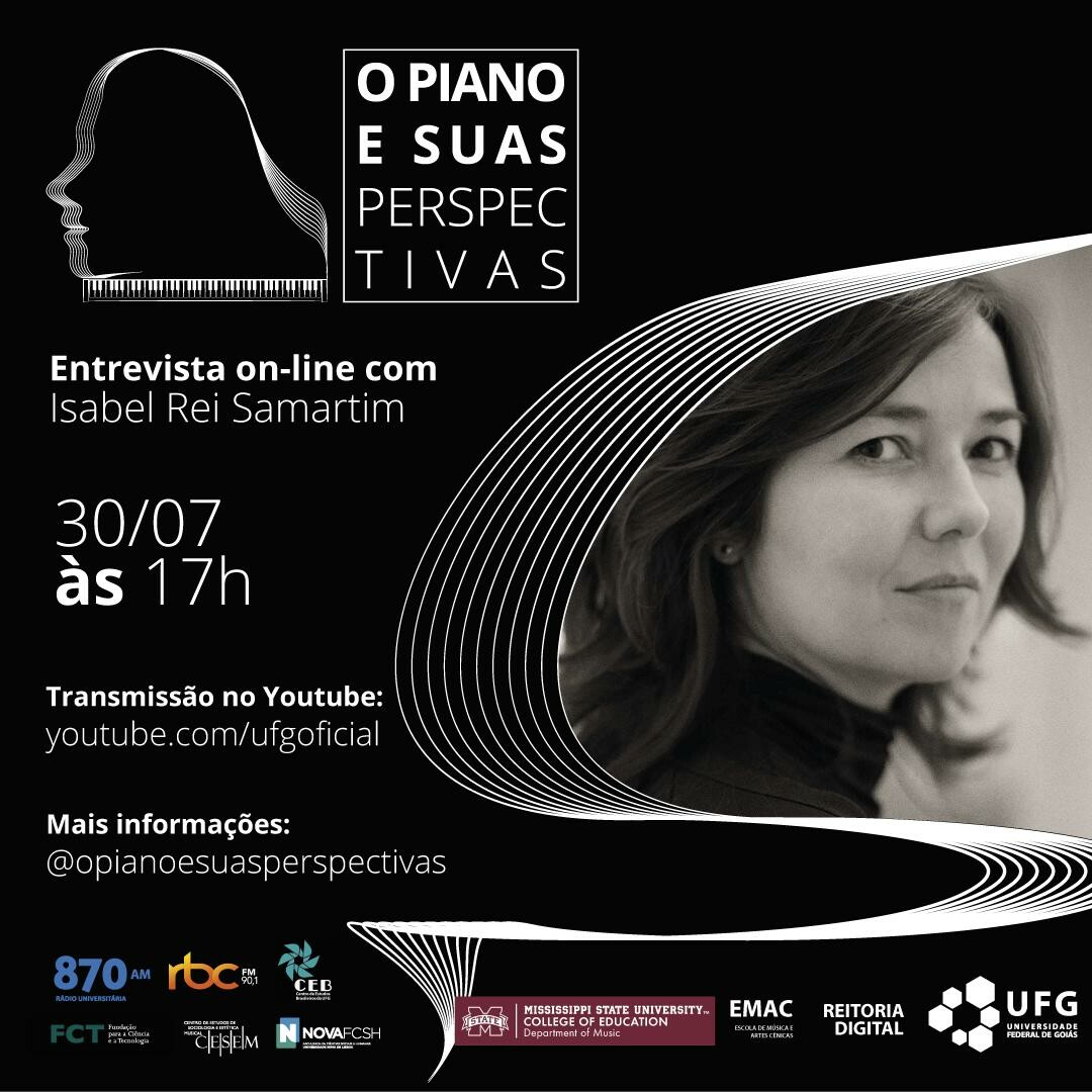 O Piano e Suas Perspectivas com Isabel Rei Samartim