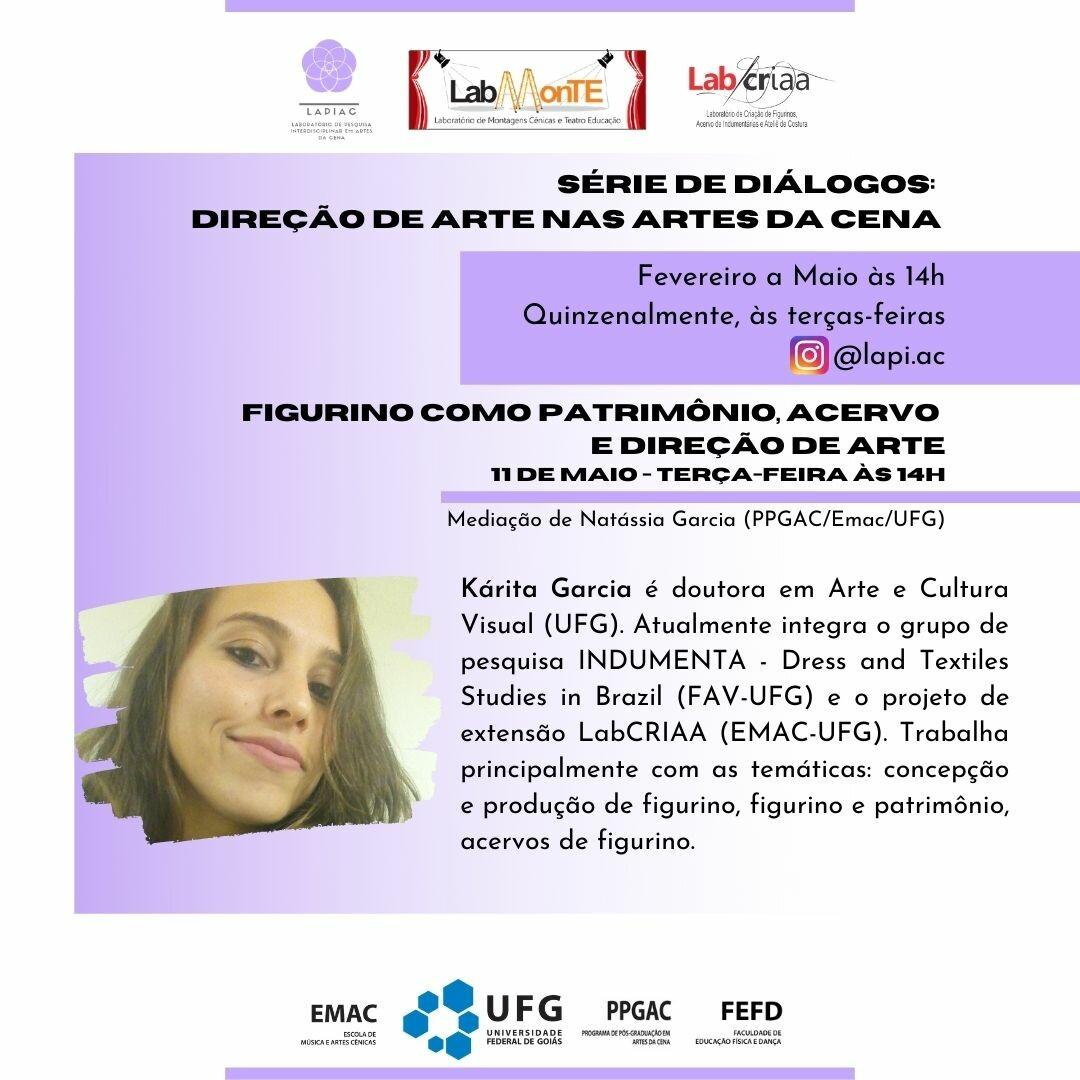 Série de diálogos 2021-Kárita Garcia