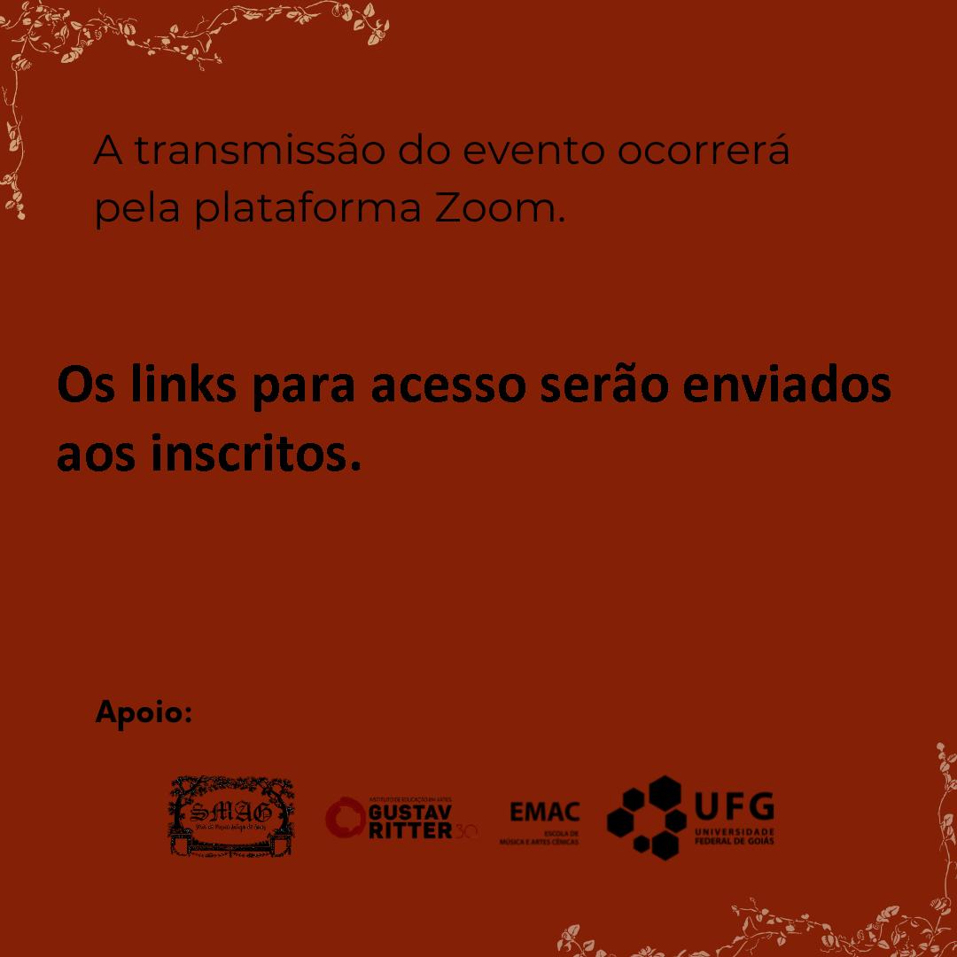 VI Série de Música Antiga de Goiás post junho 2021