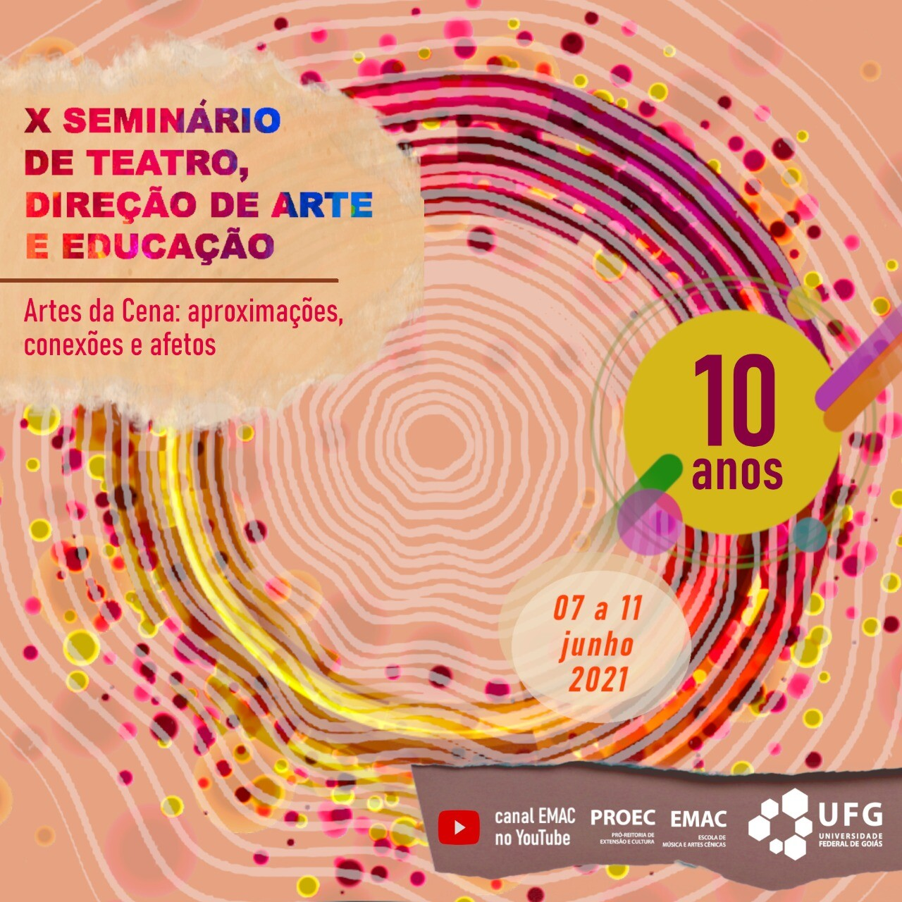 X Seminário de Teatro, Direção de Arte e Educação 2