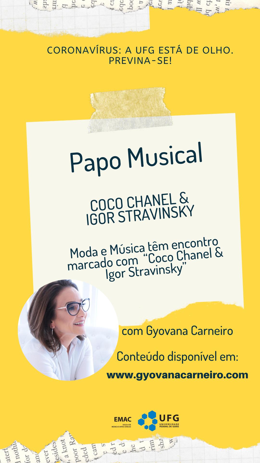 gyovana papo musical 01092020 coco chanel e igor stravinsky