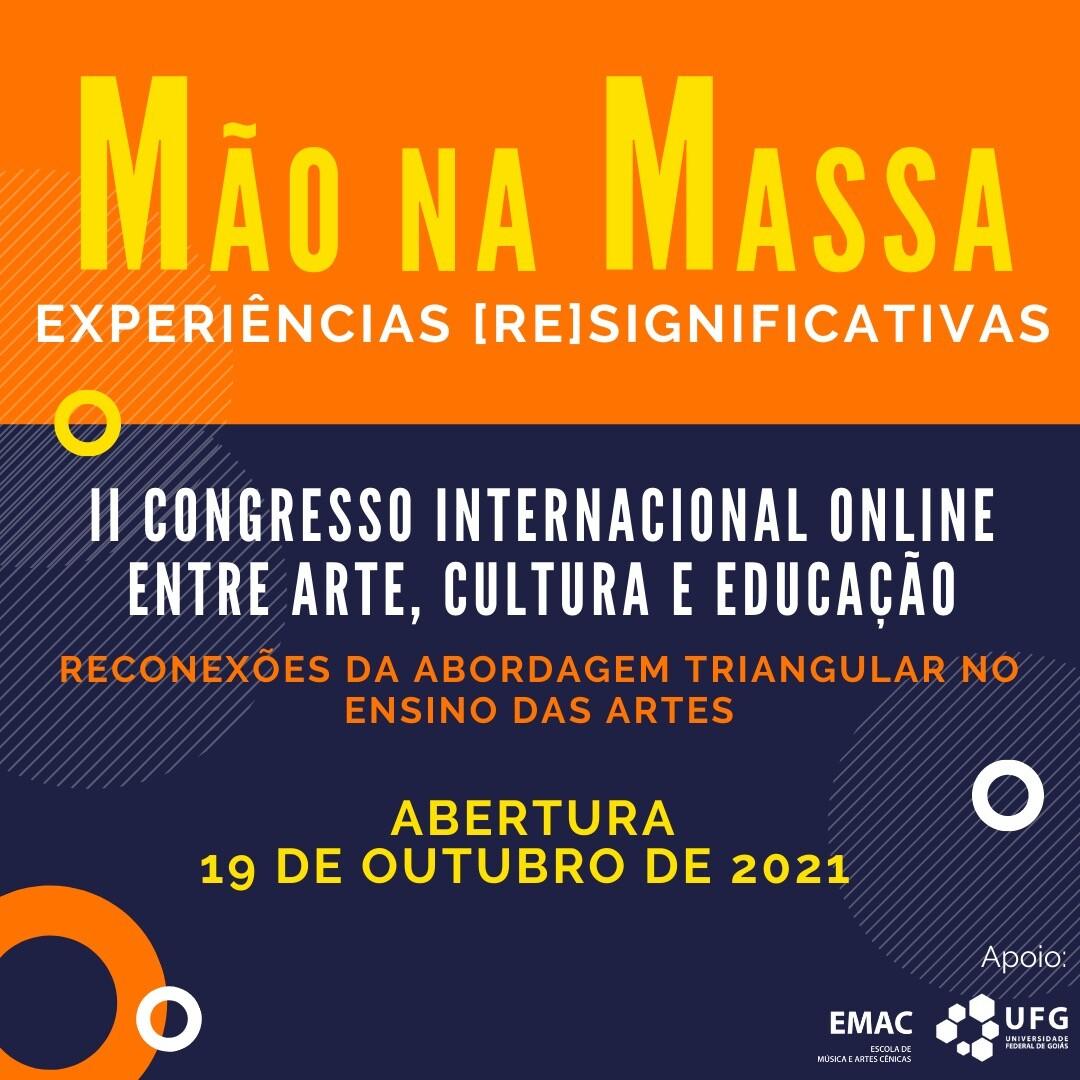 mão na massa II congresso internacional online fernanda cunha 2021