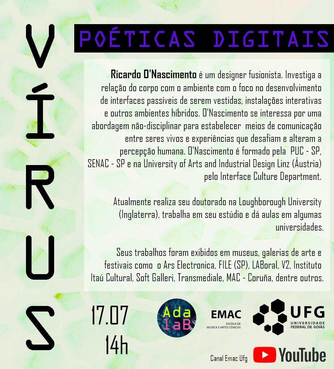 Vírus poéticas digitais Rafaela Pires 1
