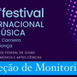 44 Festival Internacional de Música - monitoria - CARD