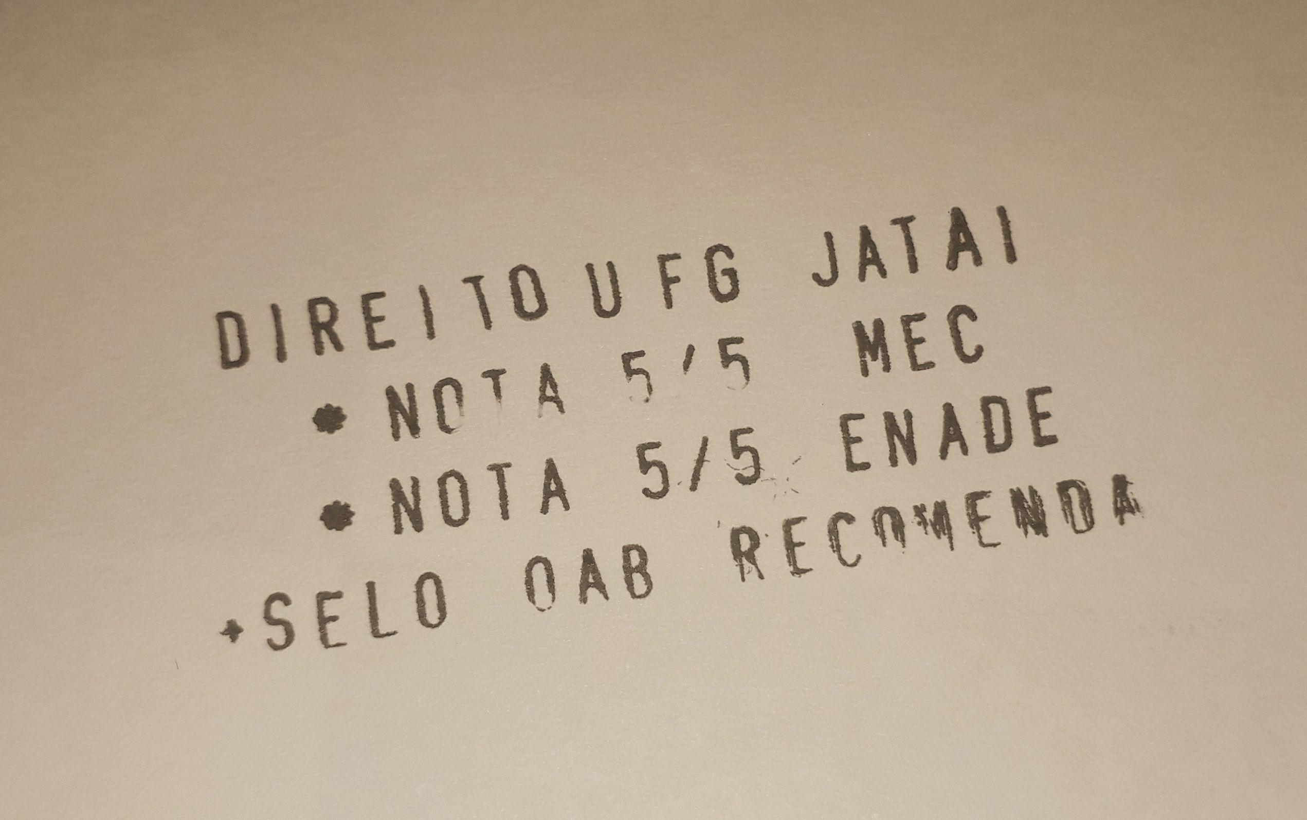 Premiação OAB.MEC e ENADE