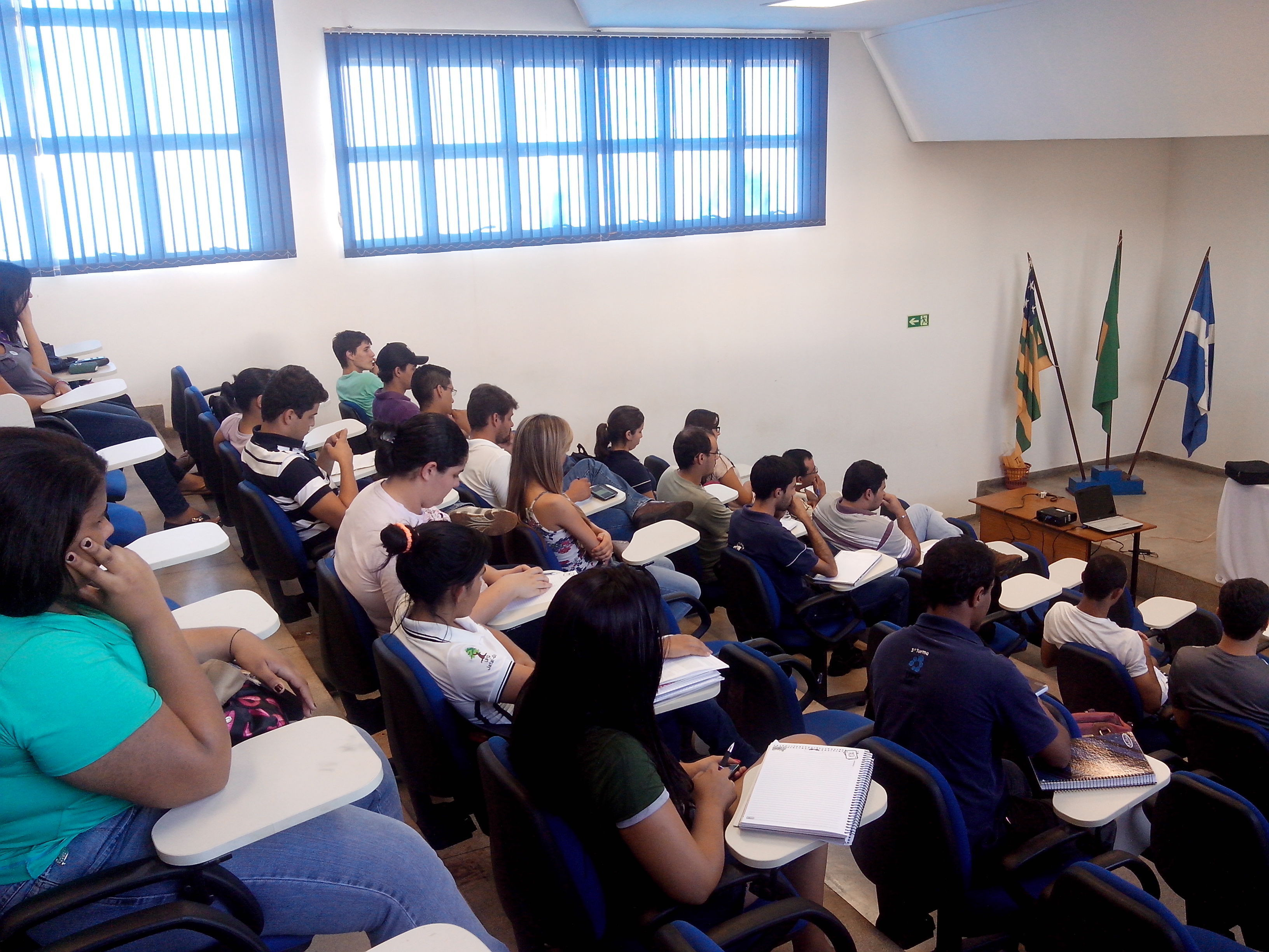 I assembléia do curso 4