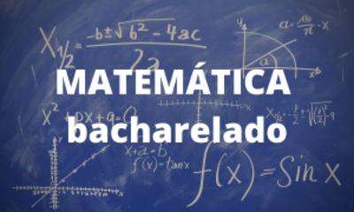Matemática - bacharelado