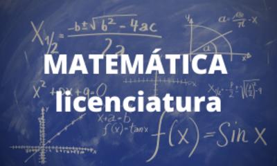 Matemática - licenciatura