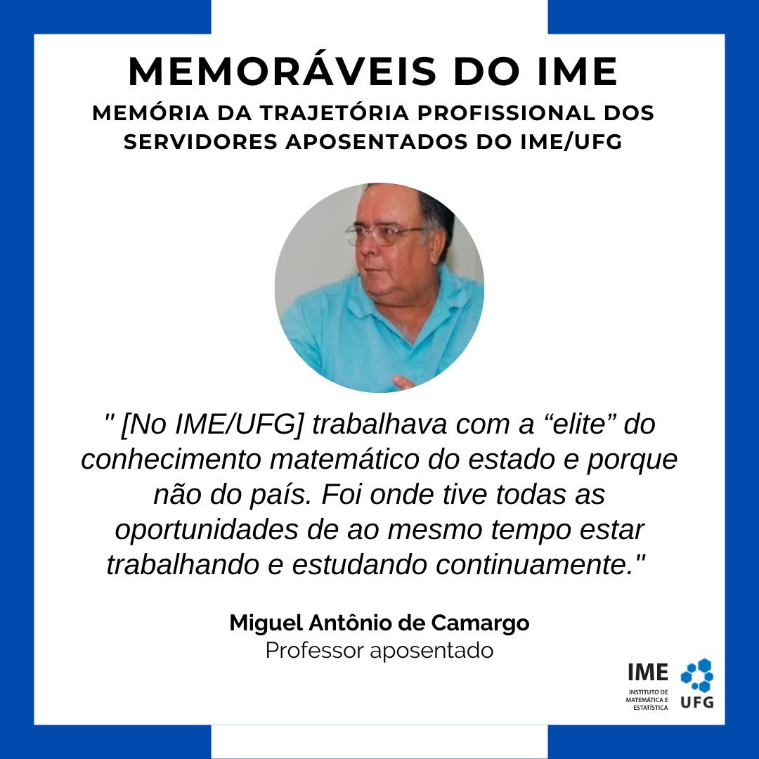 Memoráveis do IME - Miguel